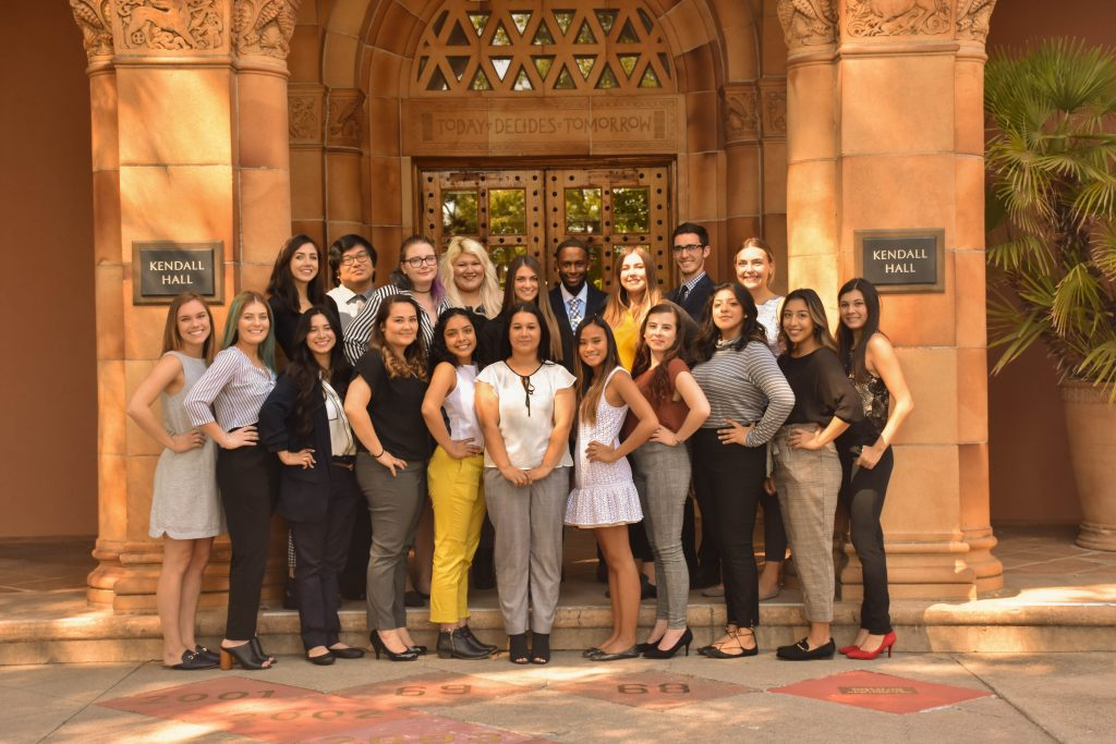 Tehama Group Communication Staff Fall 2018