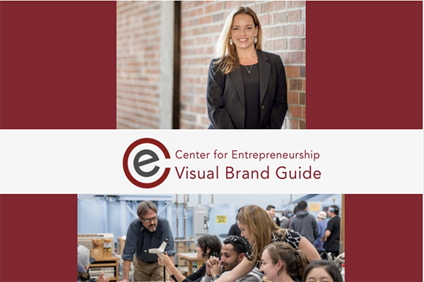 Brand Guide for Center of Entrepreneurship
